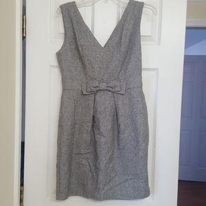 Monteau Wool Blend Bow Jumper Dress
